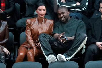 Kanye West Spotted For First Time Since Kim Kardashian Divorce Filing Without Ring