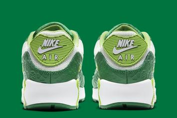 "Nike Air Max 90 ""St. Patrick's Day"" Gets Covered In Green: Photos"