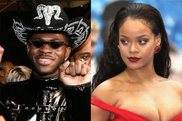 "Lil Nas X Shares Rihanna Zoom Call, Says It Was A ""Top 5 Moment"" In His Life"
