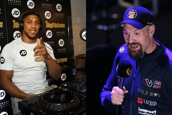 Anthony Joshua & Tyson Fury Finally Sign Two-Fight Deal