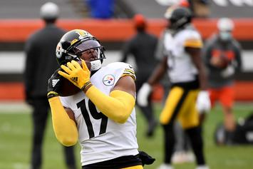 JuJu Smith-Schuster Re-Signs With The Steelers