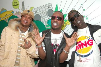 Juicy J Fined Three 6 Mafia Members If They Did Too Many Drugs, Crunchy Black Says
