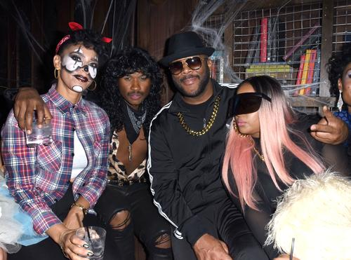 Grace Miguel, Usher, Tyler Perry and Angie Biyonce