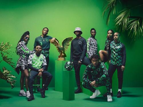 Nigeria 2018 World Cup gear