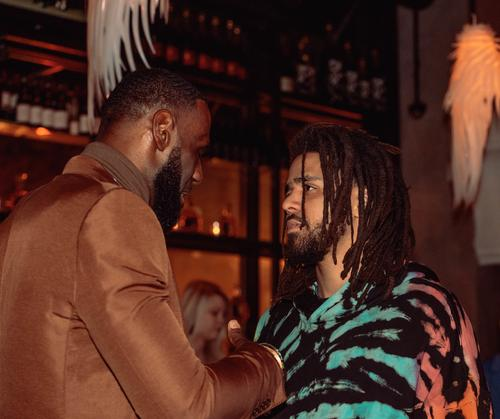 LeBron James x J. Cole