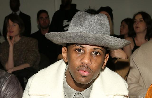 Fabolous in front row of fashion week