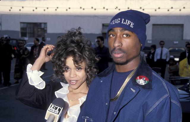 Tupac and Rosie Perez in 1993
