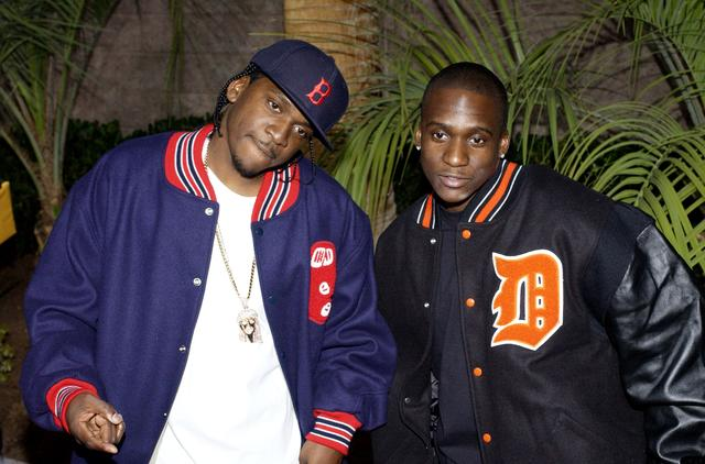 Pusha T and Malice at the 2002 BMAs