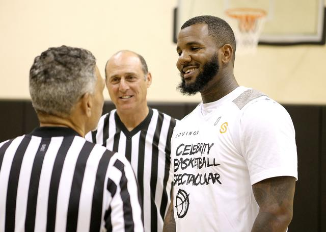 The Game at a charity basketball game