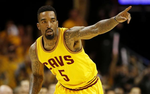Atlanta Hawks v Cleveland Cavaliers - Game Three JR Smith