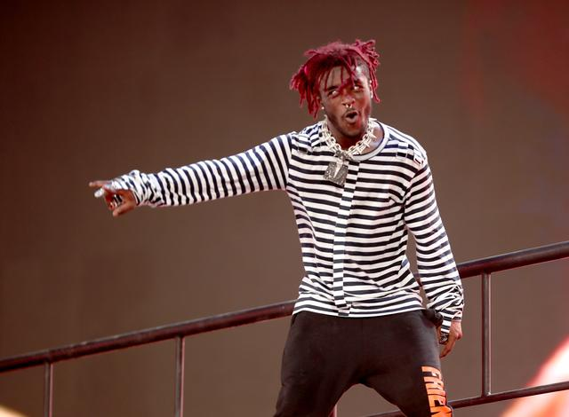 Lil Uzi Vert performing at Coachella