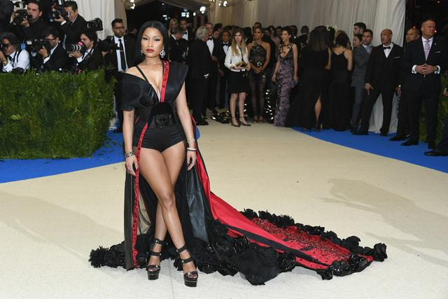 Nicki Minaj 'Rei Kawakubo/Comme des Garcons: Art Of The In-Between' Costume Institute Gala - Arrivals