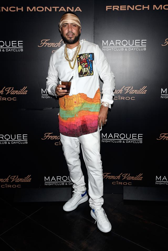 French Montana at the launch of French Vanilla CIROC