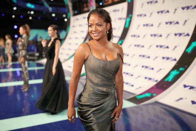 Christina Milian at the 2017 MTV VMAs