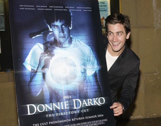 Jake Gyllenhaal at the Donnie Darko movie premiere