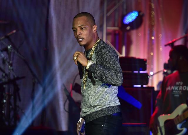 T.I. performing live