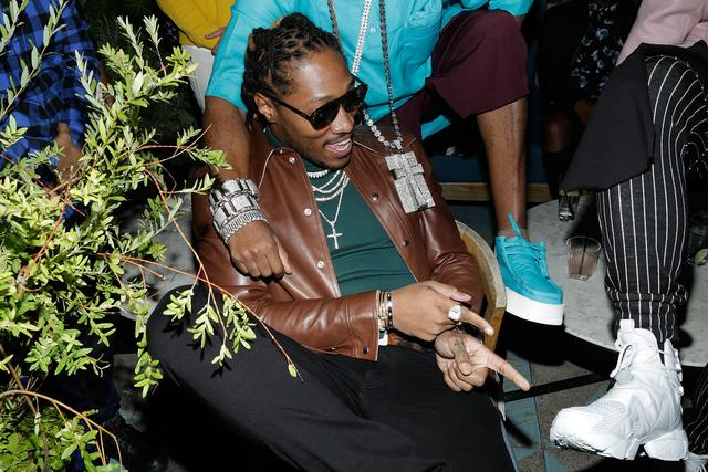 Future at a Reebok event