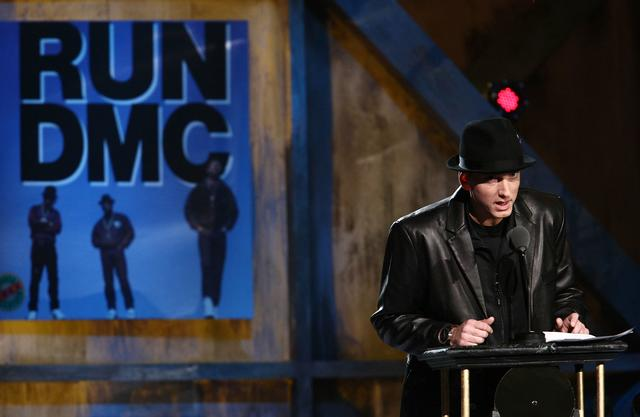 Eminem at 24th rock and roll hall of fame