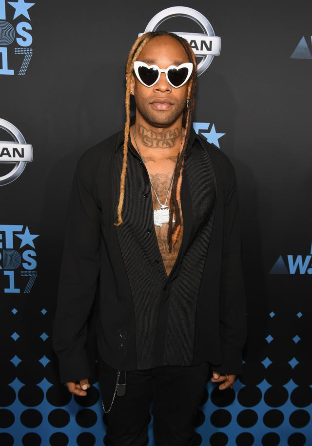 Ty at the 2017 BET Awards
