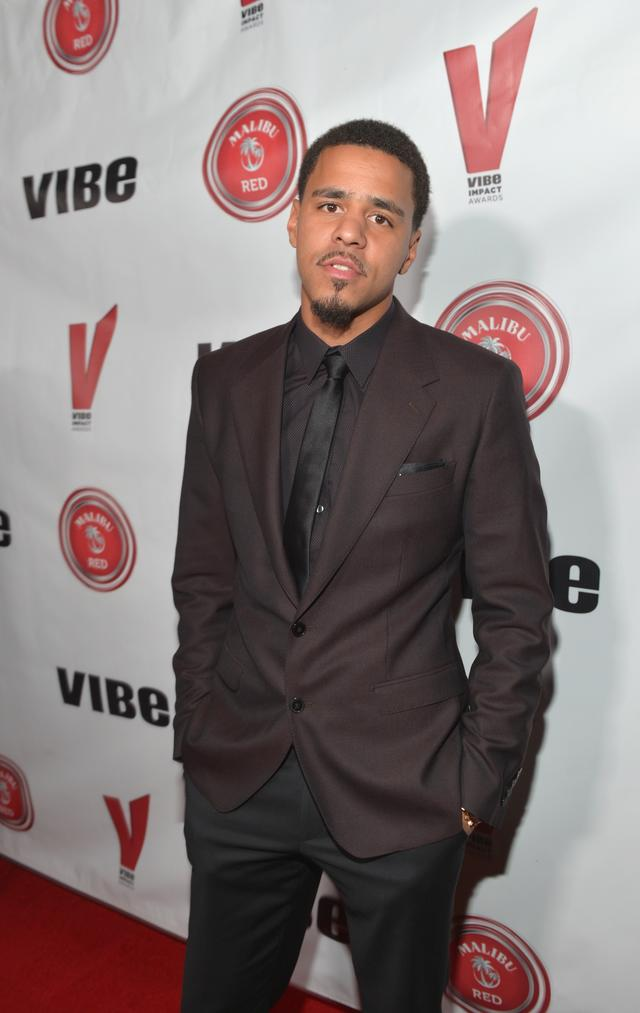 J. Cole in 2014