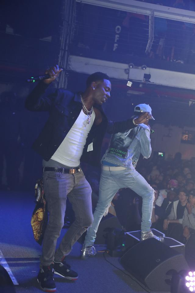 Young Dolph performing in NYC