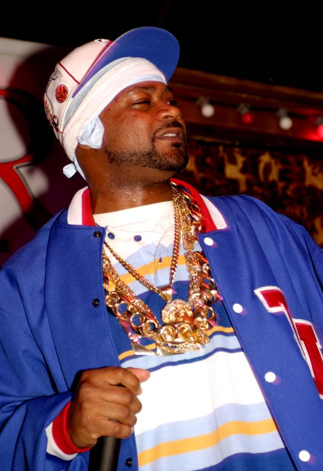 Ghostface Killah with chains