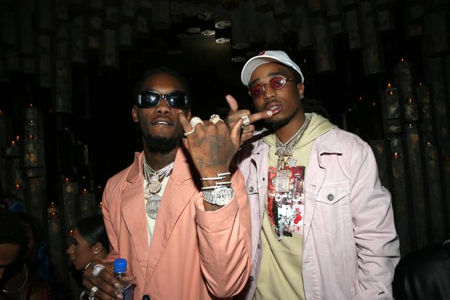 Offset and Takeoff of Migos flexing