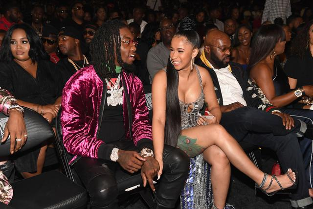 Cardi B & Offset together