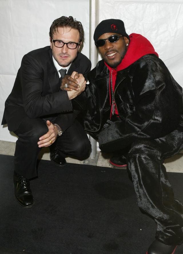 DMX and David Arquette at Never Die Alone Sundance premiere
