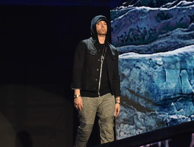 Eminem at MTV EMAs 2017