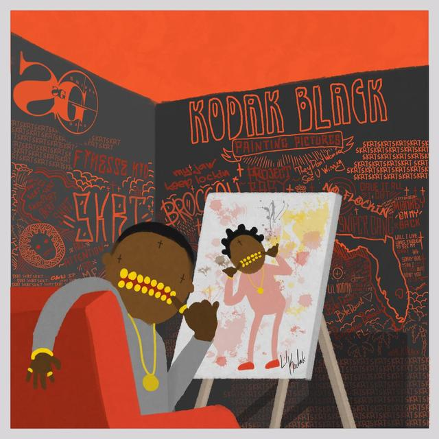 "Kodak Black - ""Top Off Benz (ft. Young Thug)"" art"
