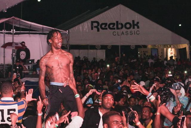Travis Scott at Trillectro festival