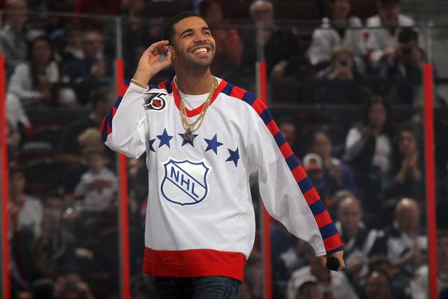 Drake at 2012 Tim Hortons NHL All-Star Game