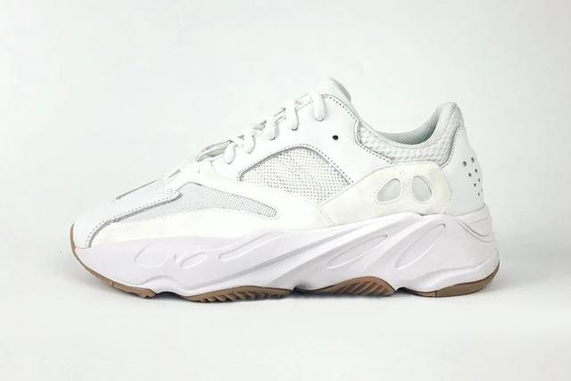 Yeezy Boost Wave Runner 700s in white