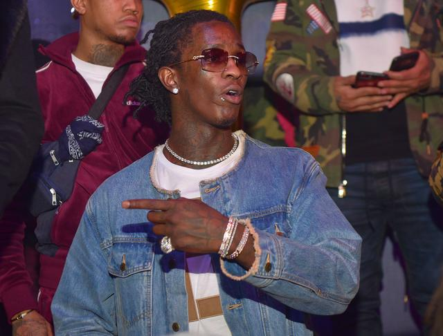 Young Thug at an ATL event