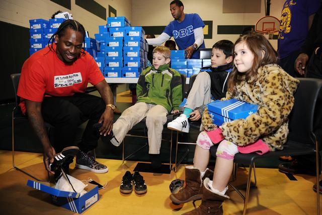 Pusha T giving away adidas sneakers for christmas