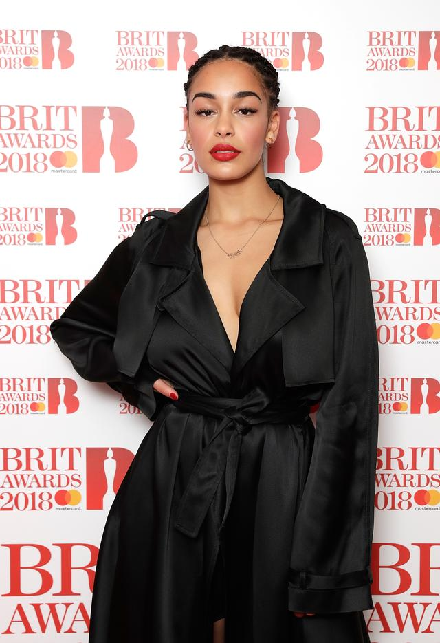 Jorja Smith on the red carpet