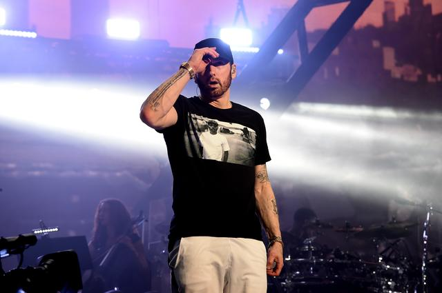 Eminem at Coachella 2018