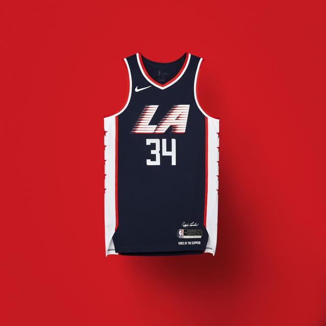 LA Clippers 2018-19 City Edition Uniforms