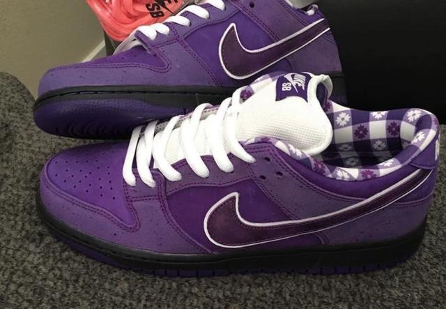 Purple Lobster Dunks