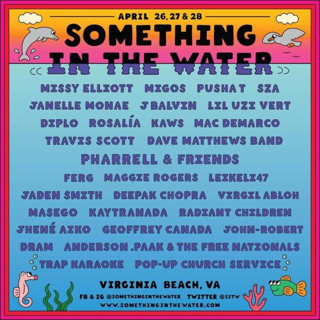 Something in the Water official flyer