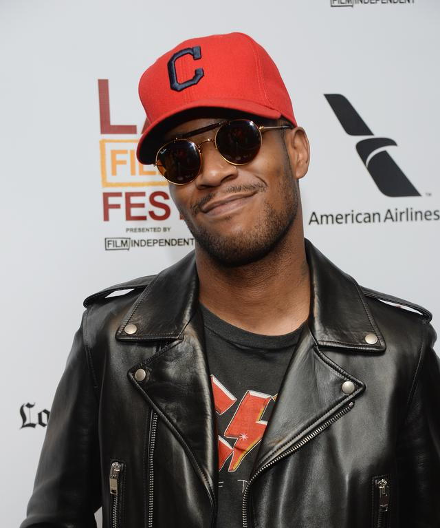 Kid Cudi at movie premiere