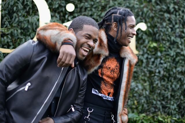 ASAP Rocky and ASAP Ferg smiling together