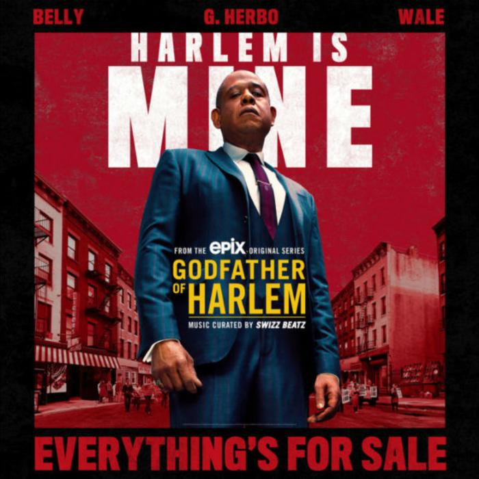 """Wale, G Herbo, & Belly Collide On """"Everything's For Sale"""" From """"Godfather Of Harlem"""" Soundtrack"""