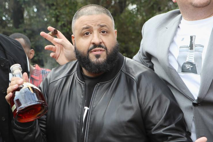 DJ Khaled attends 2017 Roc Nation Pre-Grammy Brunch at Owlwood Estate on February 11, 2017 in Los Angeles, California.