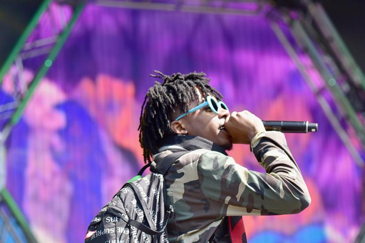 Playboi Carti performs at Budweiser Made In America Festival 2016