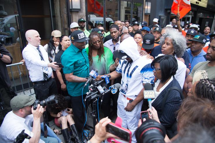 ronald mcphatters family speaks after his death at an anti-violence rally