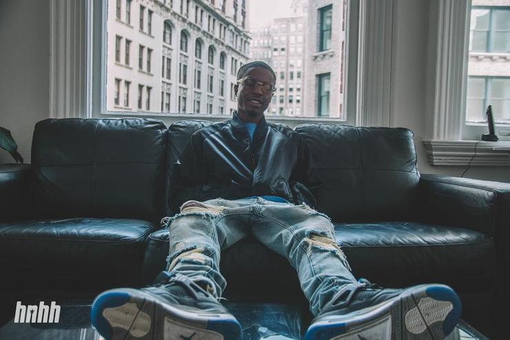 Pierre Bourne at the HNHH NYC office in 2017