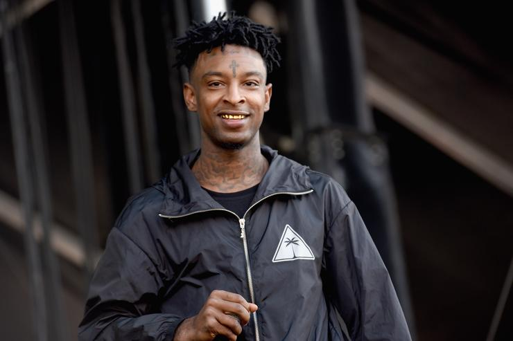 21 Savage at The Meadows festival in NYC